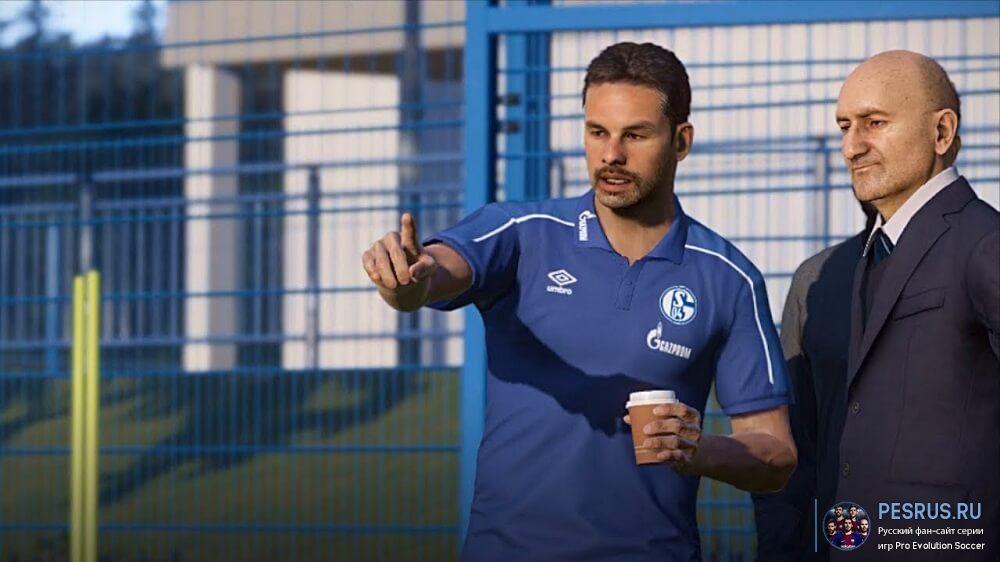 Шальке 04 футбольный клуб тренер